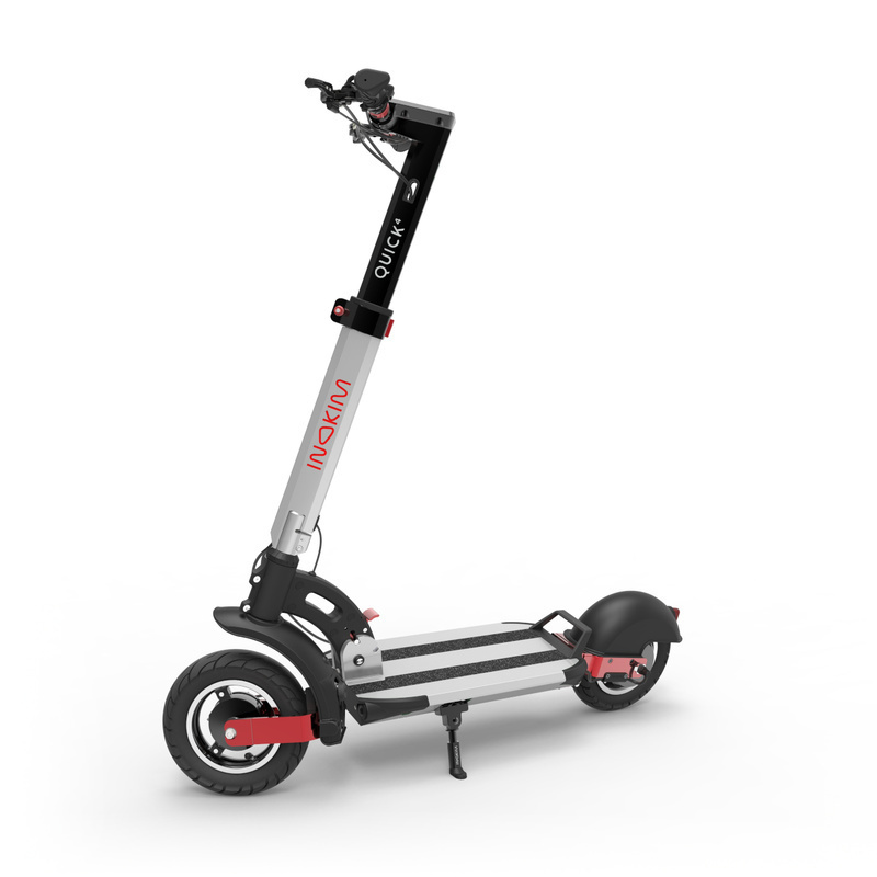 Quick4 Super Electric Scooter - Silver